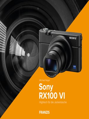 cover image of Kamerabuch Sony RX 100 VI