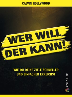 cover image of Wer will, der kann!