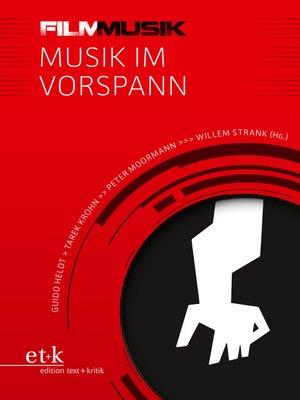 cover image of FilmMusik--Musik im Vorspann
