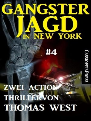 cover image of Gangsterjagd in New York #4
