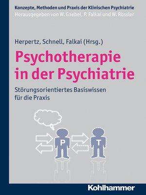 cover image of Psychotherapie in der Psychiatrie