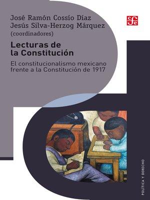 cover image of Lecturas de la Constitución