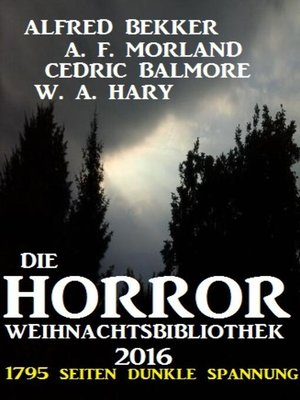cover image of Die Horror Weihnachtsbibliothek 2016