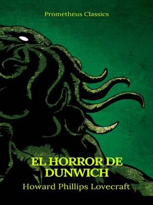 cover image of El Horror de Dunwich (Prometheus Classics)