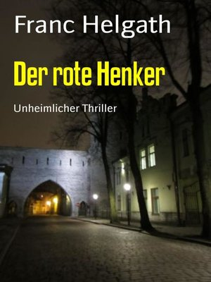 cover image of Der rote Henker