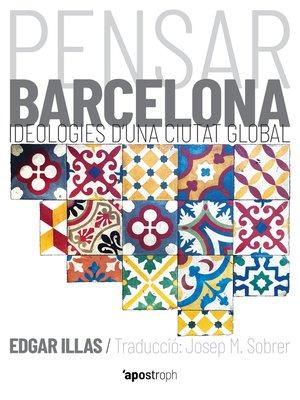 cover image of Pensar Barcelona