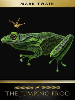 cover image of The Jumping Frog