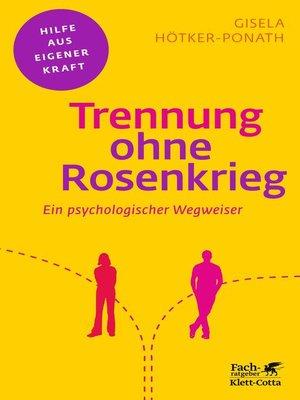 cover image of Trennung ohne Rosenkrieg