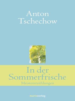cover image of In der Sommerfrische