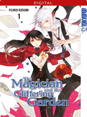 cover image of The Magician and the Glittering Garden 01