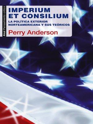 cover image of Imperium et Consilium