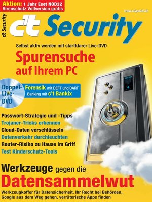 cover image of c't Security 2014
