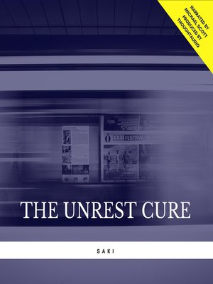 cover image of The Unrest Cure