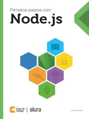 cover image of Primeiros passos com Node.js