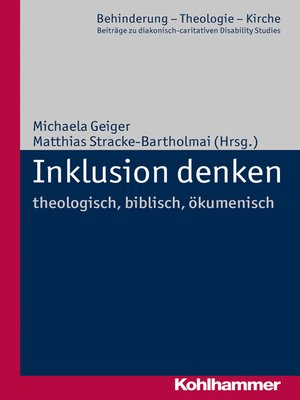 cover image of Inklusion denken