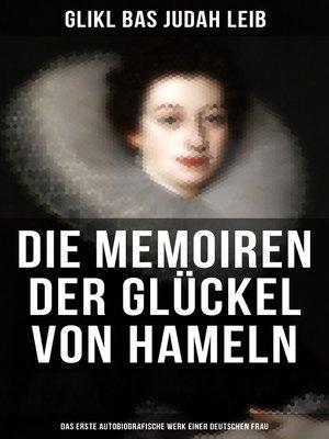 cover image of Die Memoiren der Glückel von Hameln