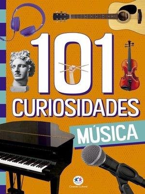 cover image of 101 curiosidades--Música
