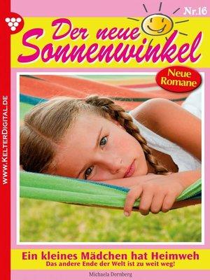 cover image of Der neue Sonnenwinkel 16 – Familienroman
