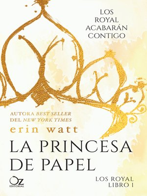 cover image of La princesa de papel