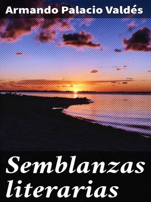 cover image of Semblanzas literarias