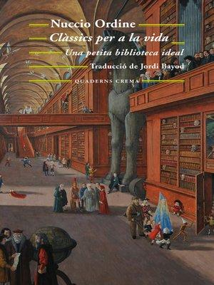cover image of Clàssics per a la vida