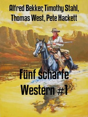 cover image of Fünf scharfe Western #1