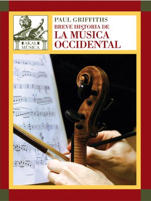 cover image of Breve historia de la música occidental