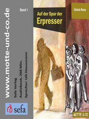 cover image of Auf der Spur der Erpresser