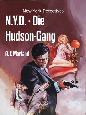 cover image of N.Y.D.--Die Hudson-Gang