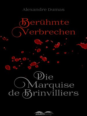 cover image of Die Marquise de Brinvilliers