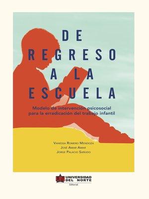 cover image of De regreso a la escuela