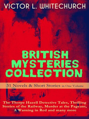 cover image of British Mysteries Collection--31 Novels & Short Stories in One Volume