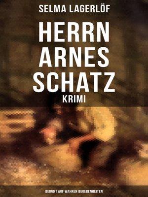 cover image of Herrn Arnes Schatz--Krimi