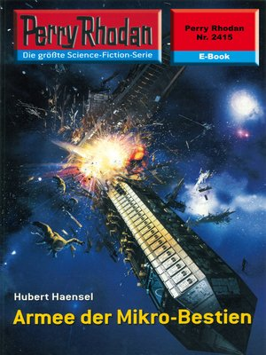 cover image of Perry Rhodan 2415