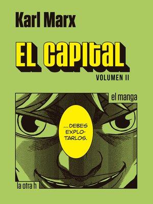 cover image of El capital. Volumen II