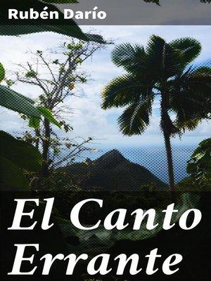 cover image of El Canto Errante