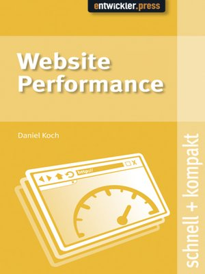 cover image of Website Performance