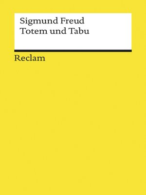 cover image of Totem und Tabu