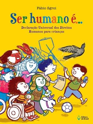 cover image of Ser humano é...