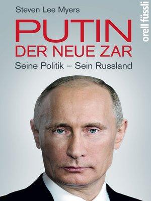 cover image of Putin – der neue Zar