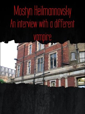 cover image of An interview with a different vampire
