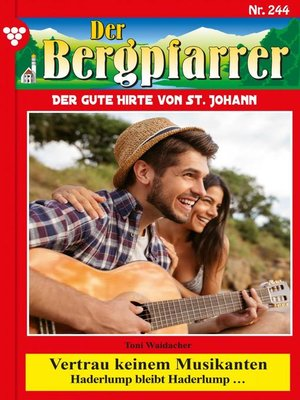 cover image of Der Bergpfarrer 244 – Heimatroman