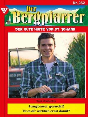 cover image of Der Bergpfarrer 252 – Heimatroman