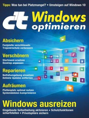 cover image of c't Windows optimieren (2018)