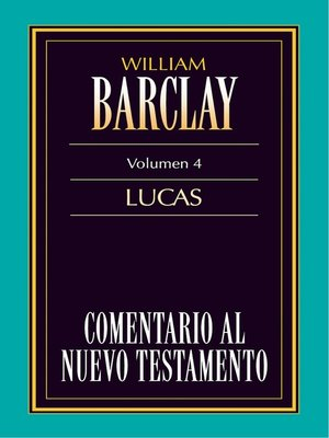 cover image of Comentario al Nuevo Testamento Volume 4