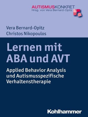 cover image of Lernen mit ABA und AVT