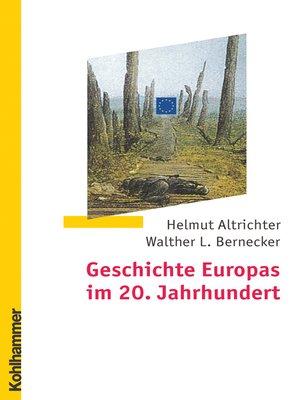cover image of Geschichte Europas im 20. Jahrhundert