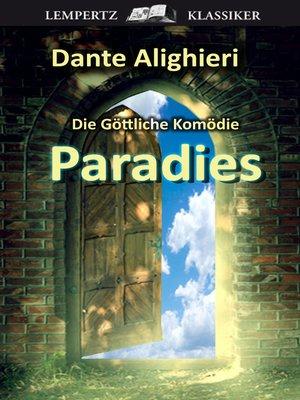 cover image of Die Göttliche Komödie--Dritter Teil