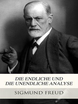 cover image of Die endliche und die unendliche Analyse