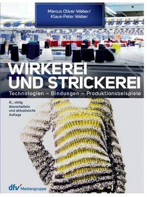 cover image of Wirkerei und Strickerei